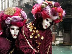 Начался карнавал в Венеции