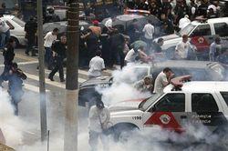 За время забастовки полиции погибло 130 человек