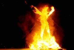 В Николаеве насильники подожгли свою жертву