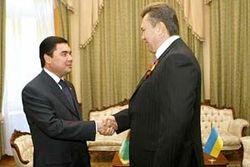 Глава Туркменистана прилетает в Украину