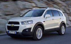Объявлены российские цены на Chevrolet Captiva