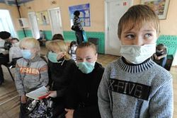 Столица Украины на пороге эпидемии гриппа