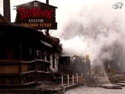 Уже третий ресторан сгорел в Одессе