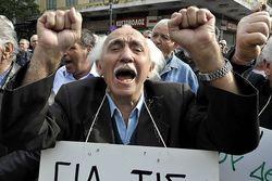 В Греции новая волна протестов