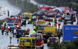 Обнародовано видео жуткой аварии в Чили