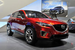 Mazda CX-5 придет на смену CX-7