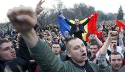 митинг в Молдове