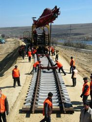 Узбекистан достроил ж/д магистраль в Афганистане