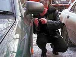 В Никополе оперативно задержан угонщик автомобиля
