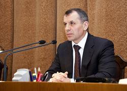 Председатель Верховной Рады Крыма Владимир Константинов