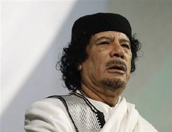 Каддафи предрекает конец повстанцам