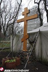 Почему демонтировали палаточный храм в парке возле Верховной Рады?