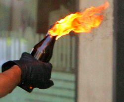 поджог российского посольства в Минске