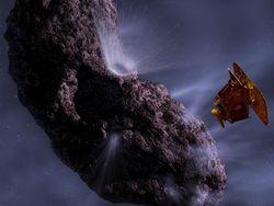 Аппарат НАСА сделал фотографии кометы в День Святого Валентина