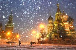 С утра 15 января в российской столице выпало около 7 сантиметров снега