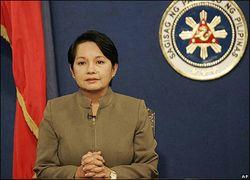 Бывший президент Филиппин бала задержана на границе