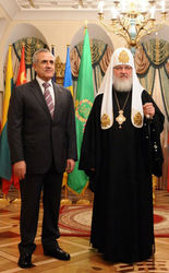 Прошла встреча патриарха Кирилла и президента Ливана