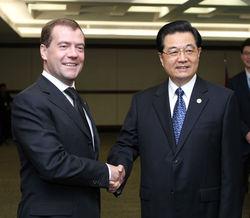 Д.Медведев и председатель КНР обсудят вопросы практического взаимодействия РФ и КНР