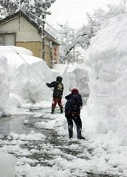 мощные снегопады