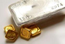 серебро и золото