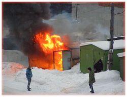 Страшный пожар произошел в Киевской области