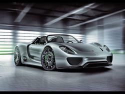 Серийный гибрид Porsche 918 Spyder покажут во Франкфурте в следующем году