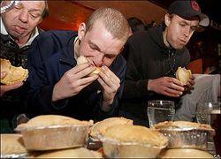 чемионат по поеданию пирогов