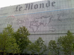 французская газета Le Monde