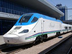 Сколько пассажиров перевез новый скоростной состав в Узбекистане?