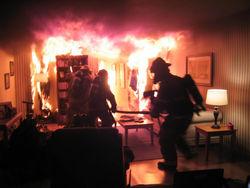 Пожар в Донецкой области: есть жертвы