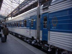 В поезде, следовавшем из Москвы в Хельсинки, случилось возгорание