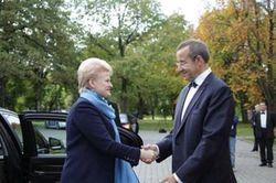 О чем договорились лидеры Литвы и Эстонии?