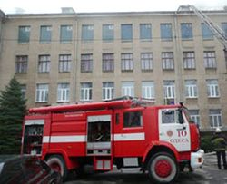 Вчера в Днепропетровске горела школа