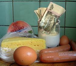 цена на продовольствие