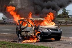 В Берлине жертвами ночных поджогов стали уже 40 автомобилей