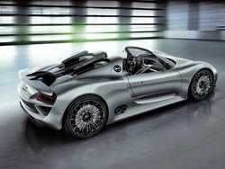 Porsche в Украине принял заказ на суперкар 918 Spyder