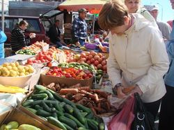 Сколько продукции продали фермеры на Алматинской ярмарке?