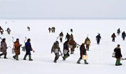 На Ставрополье около 100 рыбаков оказались оторванными от берега