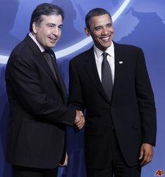 Барак Обама встретится с Саакашвили