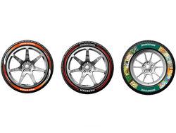 Компания Bridgestone украсит свои шины рисунками