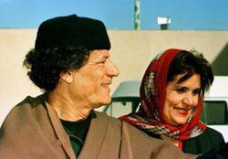 Жена и дочь Муамара Каддафи не покидали Ливию?