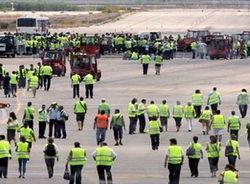 Забастовка работников аэропорта во Франкфурте