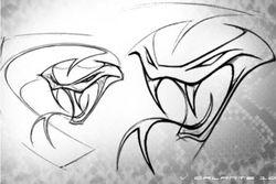 На логотипе Dodje Viper появилась новая гадюка