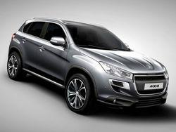 Peugeot презентует новый кроссовер 4008