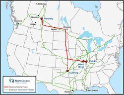 Строить нефтепровод из Канады в Техас не будут
