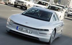 VW тестирует суперэкономичный автомобиль