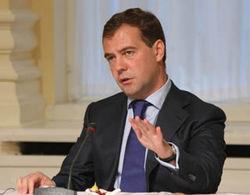 Медведев о программе защиты от огня особо важных объектов