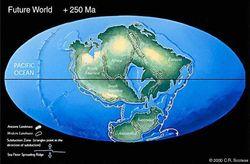 Когда материки вновь объединятся в суперконтинент?