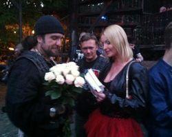 Волочкова решила стать женой байкера