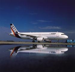 Введен в эксплуатацию первый в Прибалтике Airbus A320